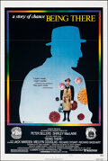 """Movie Posters:Comedy, Being There (United Artists, 1980). Folded, Very Fine. One Sheet (27"""" X 41"""") Style B. Comedy.. ..."""