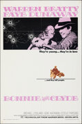 """Movie Posters:Crime, Bonnie and Clyde (Warner Bros.-Seven Arts, 1967). Folded, Fine/Very Fine. One Sheet (27"""" X 41""""). Crime.. ..."""