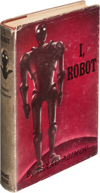 Isaac Asimov. I, Robot. New York: Gnome Press, Inc., [1950]. First edition. Signed and inscr