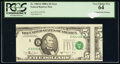 Error Notes:Miscellaneous Errors, Misaligned Face Printing Error Fr. 1980-E $5 1988A Federal Reserve Note. PCGS Very Choice New 64.. ...