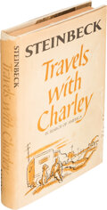 Books:Signed Editions, John Steinbeck. Travels with Charley. In search of America. New York: Viking Press, [1962]. First edition. Sig...