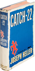 Books:Literature 1900-up, Joseph Heller. Catch-22. New York: Simon and Schuster, 1961. First edition. With a leaf signed by Heller laid-in. ...