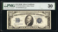 Small Size:Silver Certificates, Fr. 1703 $10 1934B Silver Certificate. PMG Very Fine 30.. ...