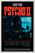 """Movie Posters:Horror, Psycho II (Universal, 1983). Rolled, Very Fine. One Sheet (27"""" X 41""""). Horror.. ..."""