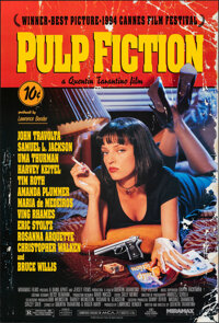 """Pulp Fiction (Miramax, 1994). Rolled, Very Fine+. One Sheet (27"""" X 41"""") SS. Crime"""
