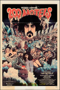 Movie Posters:Rock and Roll, 200 Motels (United Artists, 1971). Folded, Fine. O...