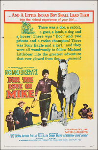 "For the Love of Mike & Other Lot (20th Century Fox, 1960). Folded, Very Fine-. One Sheets (2) (27"" X 41"")..."