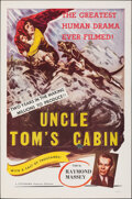 Movie Posters:Drama, Uncle Tom's Cabin (Colorama, R-1958). Folded, Fine+.