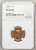 1952 Five-Piece Proof Set PR66 to PR67 NGC. The set is individually certified in holders with consecutive serial numbers...