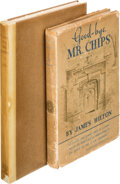 Books:Literature 1900-up, James Hilton. Good-bye, Mr. Chips. Boston: Little, Brown, 1924-1935. First American trade edition, and first Ameri... (Total: 2 )