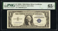 Small Size:Silver Certificates, Fr. 1617* $1 1935G With Motto Silver Certificate Star. PMG Gem Uncirculated 65 EPQ.. ...