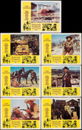 """Movie Posters:Western, The Good, the Bad and the Ugly (United Artists, 1968). Overall: Very Fine-. Lobby Cards (7) (11"""" X 14""""). Western.. ... (Total: 7 Items)"""
