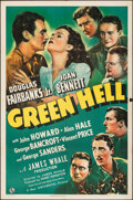 """Movie Posters:Adventure, Green Hell (Universal, 1940). Folded, Fine/Very Fine. One Sheet (27"""" X 41""""). Adventure.. ..."""
