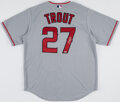 Autographs:Jerseys, Mike Trout Signed Los Angeles Angels Jersey....