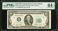 Small Size:Federal Reserve Notes, Fr. 2157-F $100 1950 Mule Federal Reserve Note. PMG Choice...