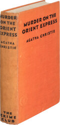 Books:Mystery & Detective Fiction, Agatha Christie. Murder on the Orient Express. London: The Crime Club, [1934]. First edition....