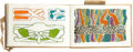 Books:Children's Books, [Pickford Waller]. Sketchbook. Series 26. London: Windsor & Newton, Ltd., no date [circa 1925]. Signed with th...