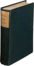 Books:Literature Pre-1900, [Presentation Copy by Morris]. William Morris. The Odyssey of Homer. Done into English verse. London: Reeves & T...