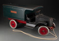 """Collectible, Vintage Buddy """"L"""" Express Line Moving Van Toy. Marks: BUDDY """"L"""" EXPRESS LINE, Q..."""