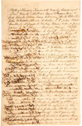 Books:Americana & American History, Rare Original Civil War Document Signed by 42 Officers and...
