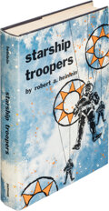 Books:Science Fiction & Fantasy, Robert A. Heinlein. Starship Troopers. New York: G. P. Putnam's Sons, [1959]. First edition....