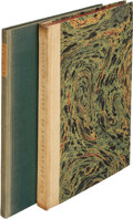 Books:Literature 1900-up, Robinson Jeffers. Group of Two Signed, Limited Editions. [Various places: various publishers, 1928-1941]. One title has a ... (Total: 2 Items)