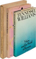 Books:Literature 1900-up, Tennessee Williams. Group of Three First Editions. New York: [various publishers, 1947-1975]. One is a signed, limited edi... (Total: 3 )