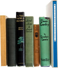 Books:Literature 1900-up, [Literature]. Group of Seven First Editions. [Various places, various publishers, 1900-1983].... (Total: 7 Items)