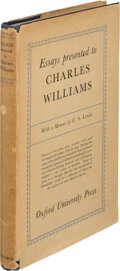 Books:First Editions, Dorothy Sayer, J. R. R. Tolkien, C. S. Lewis, et al. Essays Presented to Charles Williams. London: Geoffrey Cumberle...