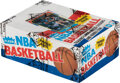 Basketball Cards:Unopened Packs/Display Boxes, 1986 Fleer Basketball Wax Box with 36 Unopened Packs as Is...