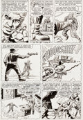 Original Comic Art:Story Page, Jack Kirby and Dick Ayers Tales To Astonish #37 Story Page 4 Ant Man Original Art (Marvel, 1...