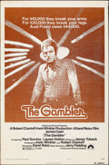"""Movie Posters:Drama, The Gambler & Other Lot (Paramount, 1974). Folded, Overall: Fine-. One Sheets (3) (27"""" X 41""""). Drama.. ... (Total: 3 Items)"""