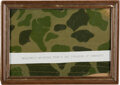 Military & Patriotic:WWII, D-Day: Allied Parachute Fragment.. ...