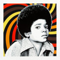 Prints & Multiples, Mr. Brainwash (b. 1966). Rock With You (Black), 2013. Screenprint in colors on Archival Art paper. 35-1/2 x 35-1/2 inche...