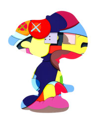 KAWS (b. 1974) No One's Home, 2015 Silkscreen in colors on Saunders Waterford white paper 36 x 29