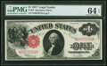 Fr. 39 $1 1917 Legal Tender PMG Choice Uncirculated 64 EPQ