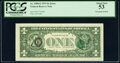 Error Notes:Third Printing on Reverse, Third Printing on Back Error Fr. 1908-E $1 1974 Federal Reserve Note. PCGS About New 53.. ...