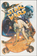 Movie Posters:Science Fiction, Star Wars (Kilian Enterprises, R-1987). Rolled, Very Fine/Near Mint. Signed and Hand-Numbered Limited Edition Screen ...