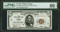 Small Size:Federal Reserve Bank Notes, Fr. 1850-G $5 1929 Federal Reserve Bank Note. PMG Gem Uncirculated 66 EPQ.. ...