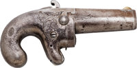 George Armstrong Custer: National Arms Co. Derringer owned by Custer