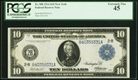 Fr. 908 $10 1914 Federal Reserve Note PCGS Extremely Fine 45