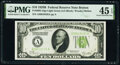Small Size:Federal Reserve Notes, Fr. 2002-A $10 1928B Light Green Seal Federal Reserve Note. PMG Choice Extremely Fine 45 EPQ.. ...