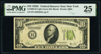 Fr. 2003-B $10 1928C Federal Reserve Note. PMG Very Fine 25
