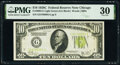 Small Size:Federal Reserve Notes, Fr. 2003-G $10 1928C Federal Reserve Note. PMG Very Fine 30.. ...