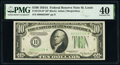 Small Size:Federal Reserve Notes, Fr. 2006-H* $10 1934A Federal Reserve Star Note. PMG Extremely Fine 40.. ...