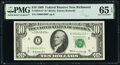 Small Size:Federal Reserve Notes, Fancy Serial Number 84000 Fr. 2018-E* $10 1969 Federal Res...
