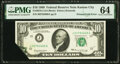 Error Notes:Foldovers, Printed Fold Error Fr. 2018-J $10 1969 Federal Reserve Note. PMG Choice Uncirculated 64.. ...