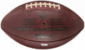 Football Collectibles:Balls, 2020 Los Angeles Chargers Game Used Football. ...