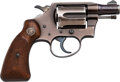 Handguns:Double Action Revolver, Scarce U.S. Air Force Colt Aircrewman Model Double Action Revolver with Factory Letter.. ...