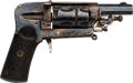 Handguns:Double Action Revolver, French St. Etienne Double Action Revolver.. ...